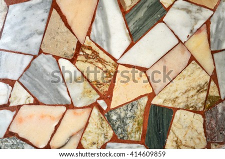 marble floor background - stock photo