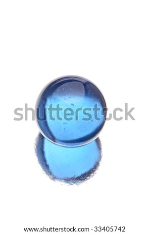Marble isolated over white - stock photo