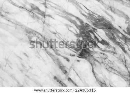 Marble patterned background. Marbles from the North of Thailand, Black and white. - stock photo