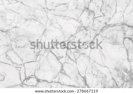Marble patterned texture background, abstract natural marble black and white (gray) for design. - stock photo