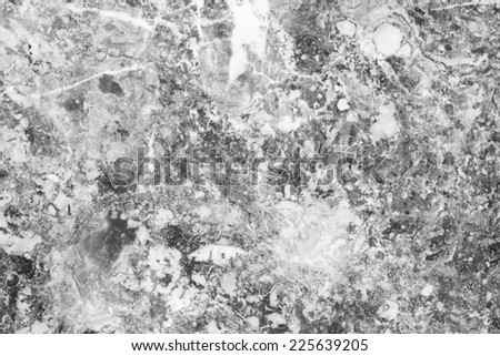 Marble patterned texture background, Black and white. - stock photo