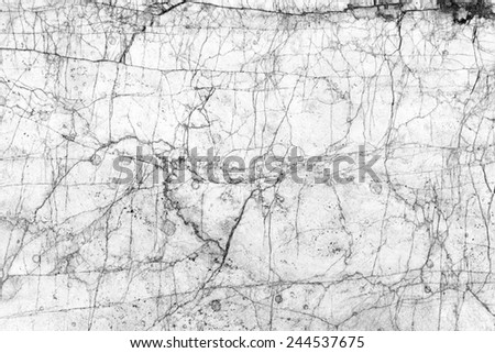 Marble patterned texture background. Black and white. - stock photo