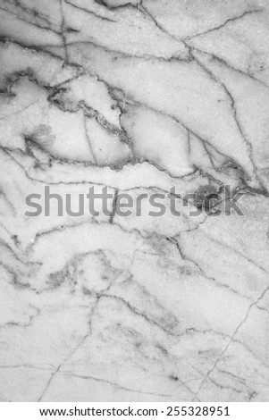Marble patterned texture background. Marbles of Thailand, abstract natural marble black and white for design. - stock photo
