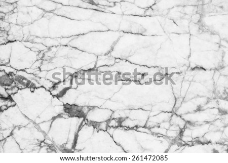 Marble patterned texture background. Marbles of Thailand, abstract natural marble black and white (gray) for design. - stock photo