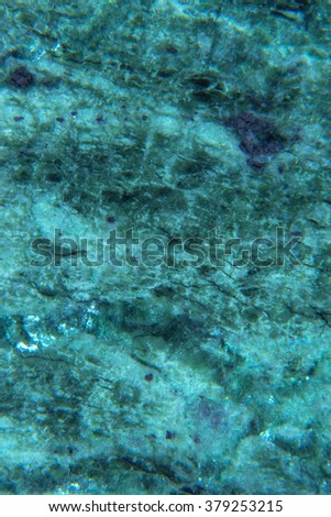 Marble patterned texture background. Surface of the marble with green blue