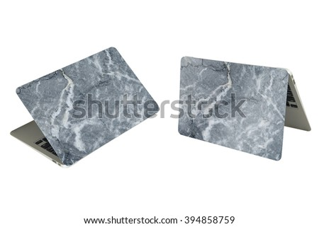 Isolates Sample Black Slate Rock Stock Photo 56061259