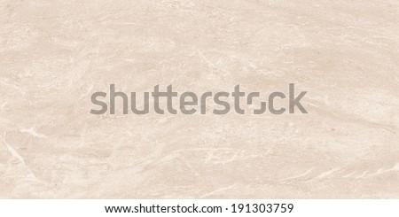 Marble texture. Cream stone background.  Limestone texture - stock photo