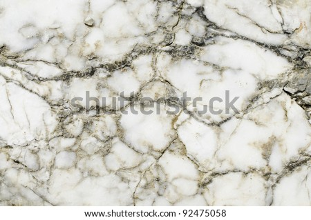 Marble texture, natural real marble in detail - stock photo