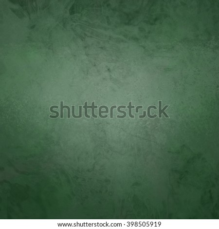 marbled textured background, glossy glass pattern of wavy texture shapes, dull green color - stock photo