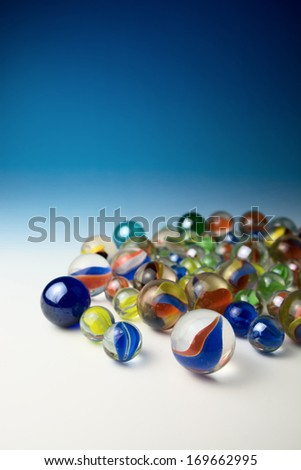 Marbles - stock photo