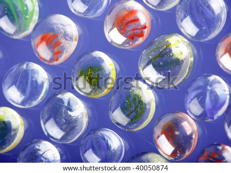 marbles background - stock photo