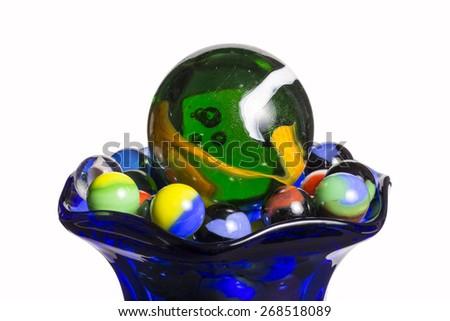 Marbles Sundae - stock photo