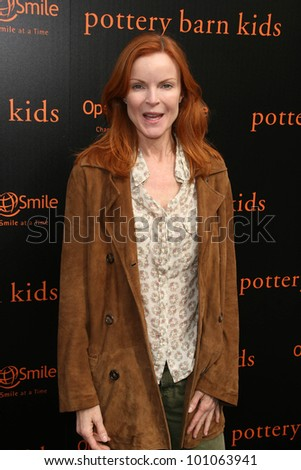 Marcia Cross at the Pottery Barn Kids Halloween Carnival Benfiting Operation Smile, Private Location, Los Angeles, CA. 10-23-10