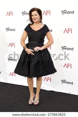 Marcia Gay Harden at the 40th AFI Life Achievement Award Honoring Shirley MacLaine held at the Sony Studios in Los Angeles on June 7, 2012.  - stock photo