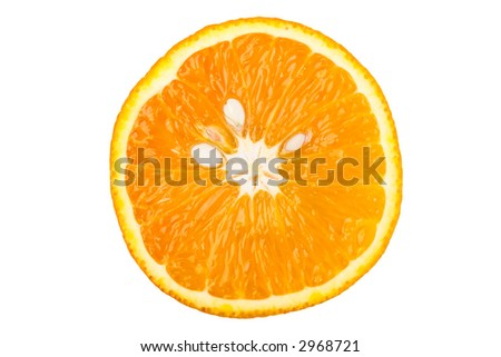 Marco of orange slices. Would make a good background.