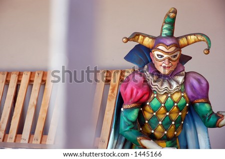 Mardi Gras Museum, Jackson Square, New Orleans - stock photo
