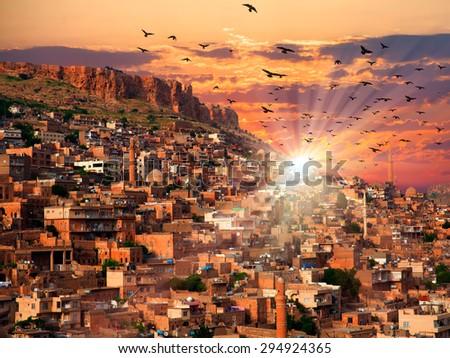 Mardin, old town - stock photo