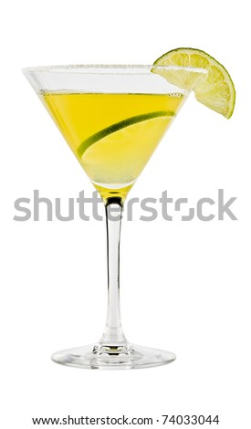 Margarita cocktail - stock photo