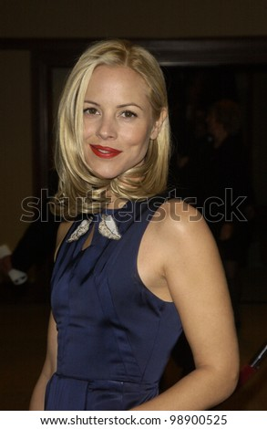 MARIA BELLO at the 56th Annual Directors Guild Awards in Century City, Los Angeles, CA.  February 7, 2004