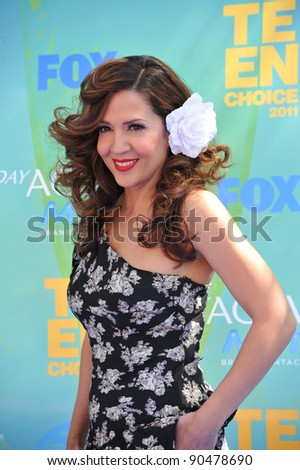 Maria Canals-Barrera at the 2011 Teen Choice Awards at the Gibson Amphitheatre, Universal Studios, Hollywood. August 7, 2011  Los Angeles, CA Picture: Paul Smith / Featureflash