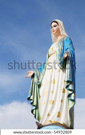Maria Statue - stock photo