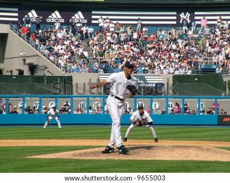 Mariano Rivera - stock photo