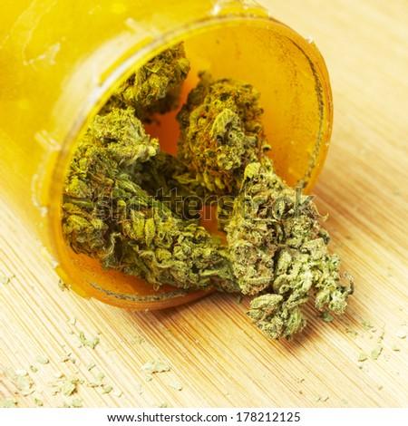 Marijuana, American Drug - stock photo