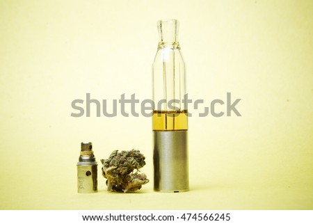 Marijuana and Cannabis Electronic-Cigarette
