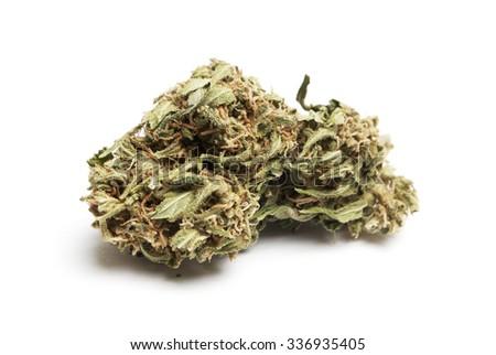 Marijuana Bud, Cannabis, Pot, Weed  - stock photo