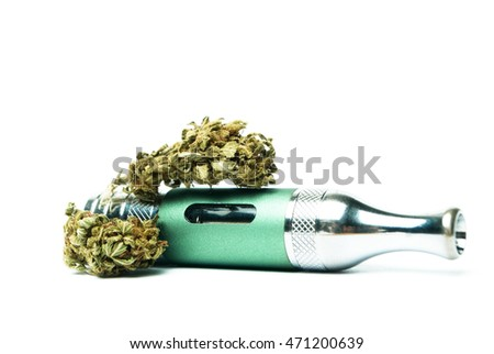 Marijuana E-Cigarette Vaping