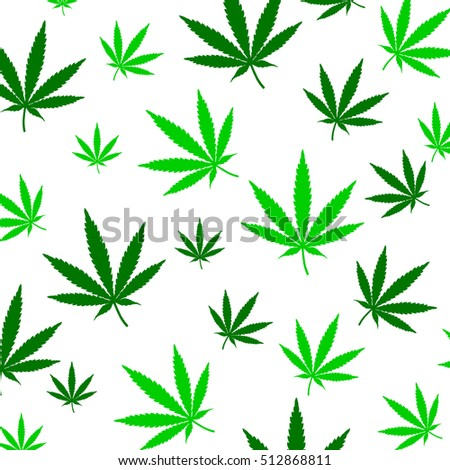 Green pot leaf background stock vector 9151828 shutterstock for Weed leaf template