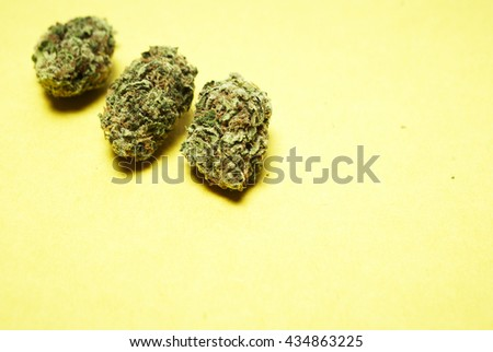Marijuana Weed Pot  - stock photo