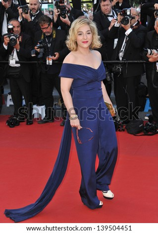 "Marilou Berry at the gala premiere of ""The Past"" (Le Pass) in competition at the 66th Festival de Cannes. May 17, 2013  Cannes, France"