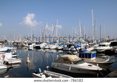 Marina - stock photo