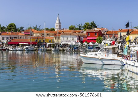 Marina at the bay - Novigrad, Croatia