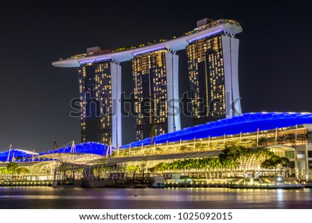 Marina Bay Sands, Singapore, February 2018