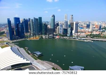 marina bay,Singapore,background