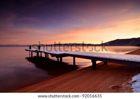 Marina Bay Sunrise - stock photo