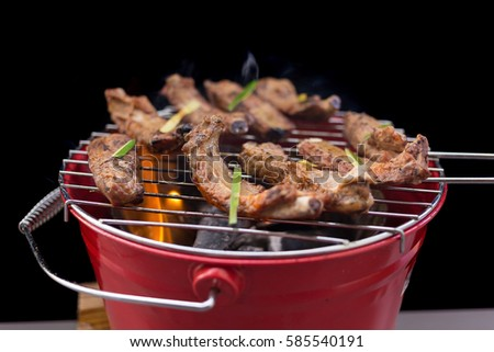 how to cook marinated pork spare ribs
