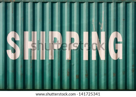 Marine industry container