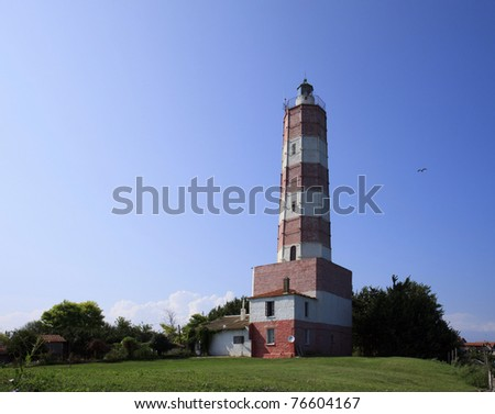 marine lighthouse at Cape Shabla, Bulgaria