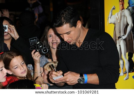"Mario Lopez  at the ""Megamind"" Los Angeles Premiere, Chinese Theater, Hollywood, CA. 10-30-10"
