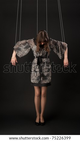 marionette - stock photo