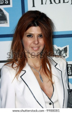 Marisa Tomei at the 2008 Film Independent Spirit Awards at Santa Monica Beach, Santa Monica, California.