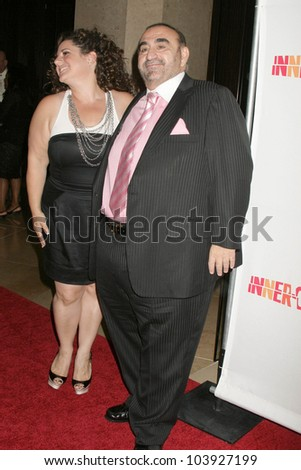 Marissa Jaret Winokur and Ken Davitian at the 20th Anniversary Inner City Arts Imagine Gala and Auction. Beverly Hilton Hotel, Beverly Hills, CA. 10-15-09