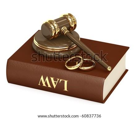 Marital agreement - stock photo