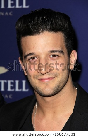 Mark Ballas at the Launch Celebration for Martell Caractere Cognac, Paramour Mansion, Los Angeles, CA 10-10-13 - stock photo