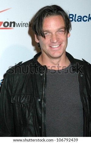 Mark Johnson  at the Launch Party for Blackberry Storm. Avalon Hollywood, Hollywood, CA. 10-29-08 - stock photo