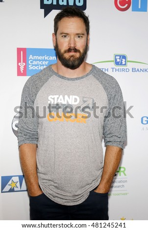 Mark-Paul Gosselaar at the 5th Biennial Stand Up To Cancer held at the Walt Disney Concert Hall in Los Angeles, USA on September 9, 2016.
