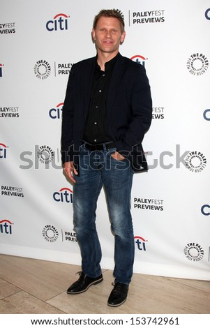 "Mark Pellegrino at the PaleyFest Previews:  Fall TV CW - ""The Tomorrow People,"" Paley Center for Media, Beverly Hills, CA 09-07-13"